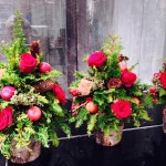2014FLORALUXE/ New York Flower Schoolクリスマスレッスン